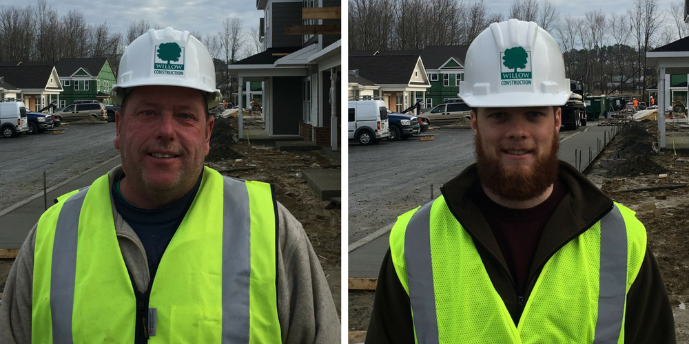 Willow Construction Welcomes Two New Team Members