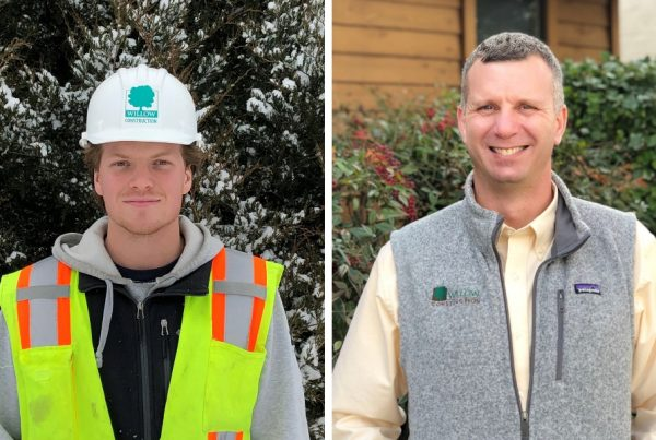 Two new employees at Willow Construction