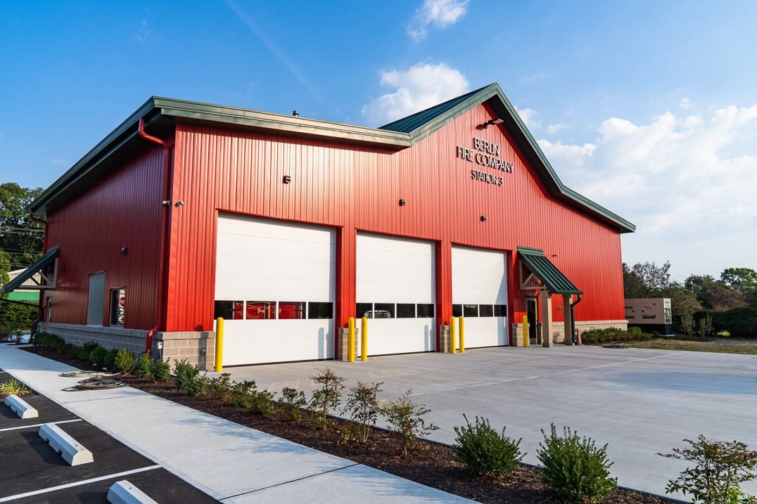 Pre Engineered Metal Building Fire Station